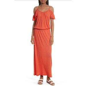 Soft Joie Jassina Maxi Dress Poppy Sz S NWOT